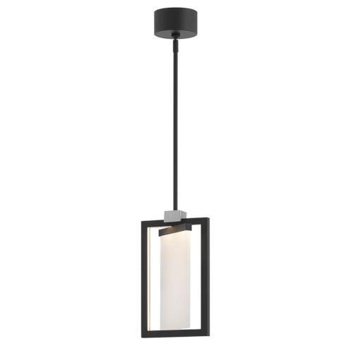 Folio Black LED Mini Pendant