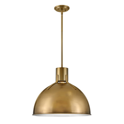 Argo Heritage Brass 20-Inch LED Pendant