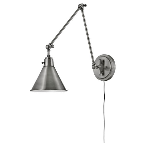 Arti Polished Antique Nickel Eight-Inch One-Light Wall Sconce