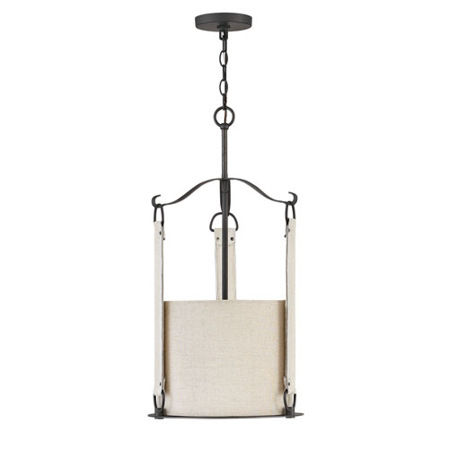 Telluride Brushed Graphite Three-Light Pendant