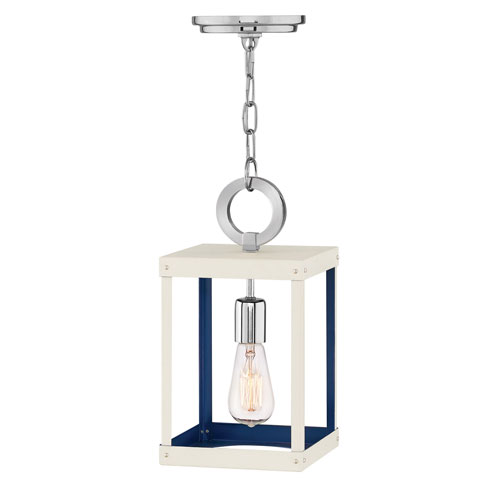 Porter Polished Nickel One-Light Mini Pendant
