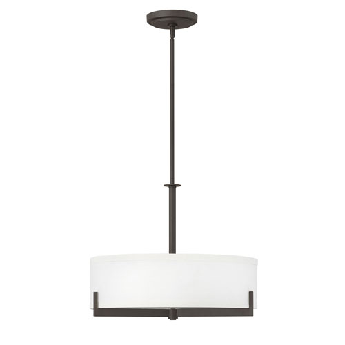 Hayes Oil Rubbed Bronze Three-Light Chandelier