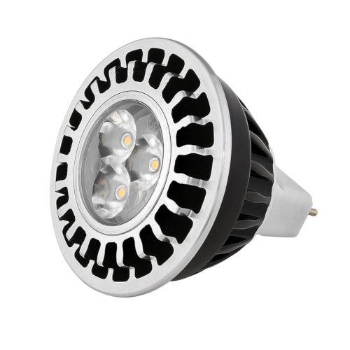 Black Landscape MR16 LED Bulb with 60 Degree, 2700K