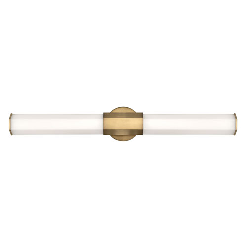 Facet Heritage Brass 32-Inch LED ADA Bath Sconce