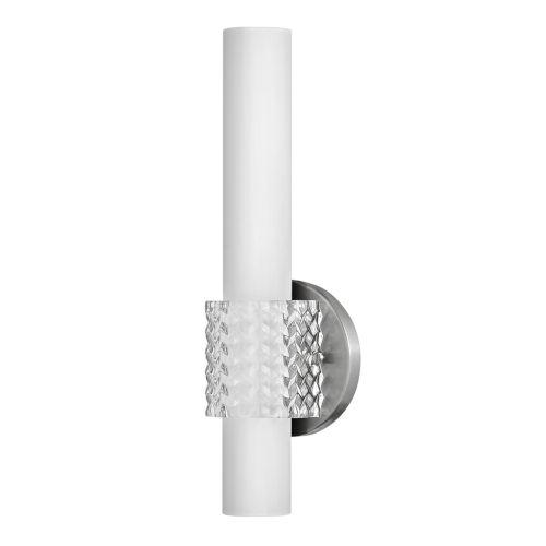 Vivi Brushed Nickel LED Bath Sconce