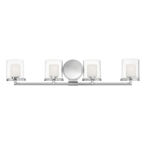 Rixon Chrome Four-Light LED Bath Vanity