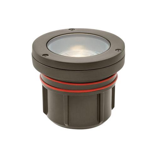 Bronze LED Flat Top Well Accent Spot Light