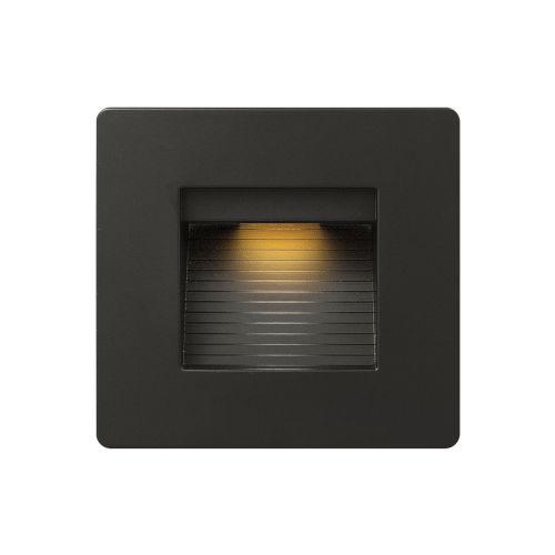 Luna Satin Black 5-Inch 3000K LED Deck Light