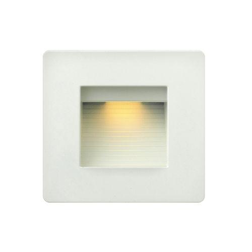 Luna Satin White 5-Inch LED Deck Light