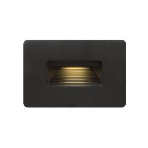 Luna Satin Black 3000K LED Deck Light