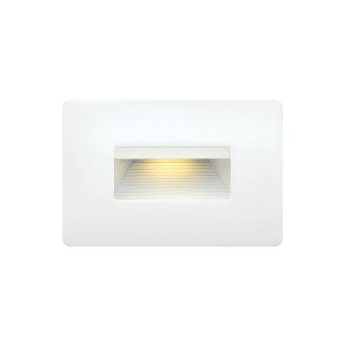 Luna Satin White 5-Inch 3000K LED Deck Light