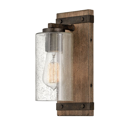 Sawyer Sequoia One-Light Bath Sconce