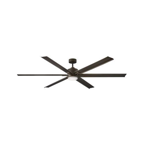 Indy Maxx Metallic Matte Bronze 82-Inch LED Indoor Outdoor Fan