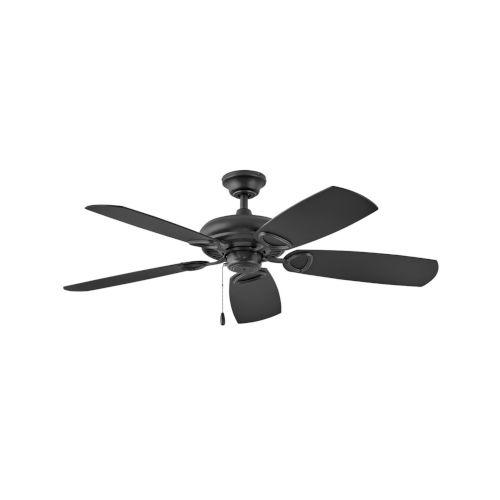 Marquis Matte Black 52-Inch Ceiling Fan