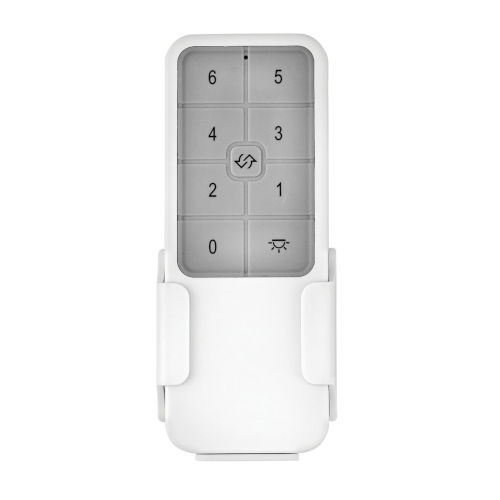 White Six-Speed DC Remote Control