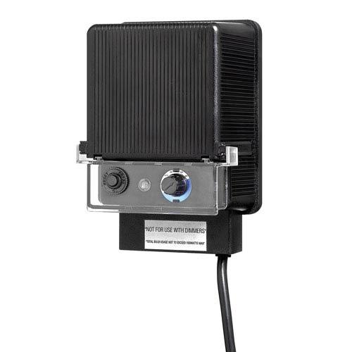 Black 150-Watt Landscape Transformer