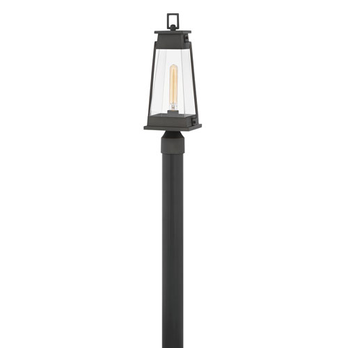 Hinkley Arcadia Aged Copper Bronze One-Light Outdoor Post Top and Pier Mount