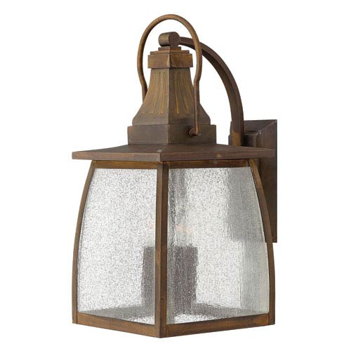 Hinkley Montauk Sienna Outdoor Large LED Wall Light