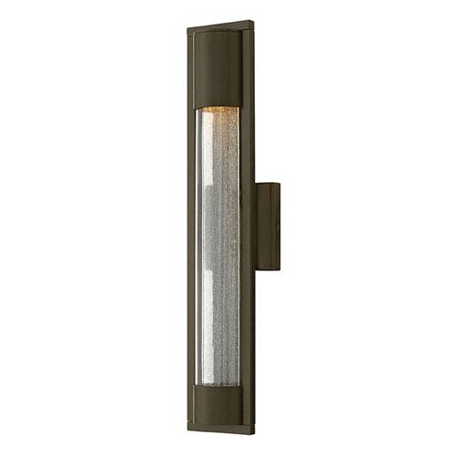 Hinkley Mist Titanium One-Light Outdoor 15.5-Inch Small Wall Mount