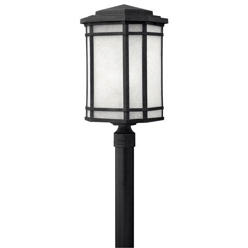 Cherry Creek Vintage Black One-Light LED Outdoor Light
