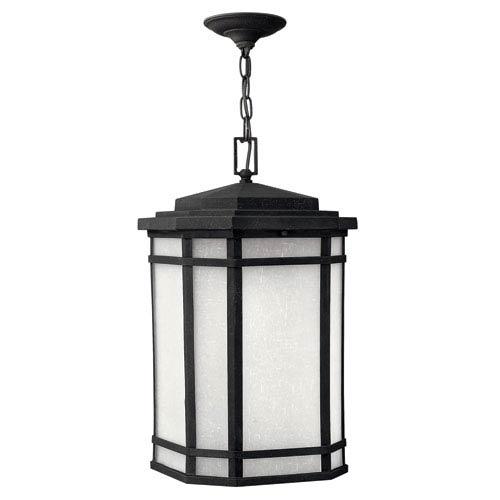 Cherry Creek Vintage Black One-Light Outdoor Pendant