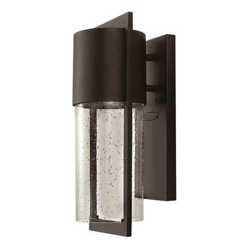 Shelter Buckeye Bronze 6-Inch One-Light LED Outdoor Wall Light