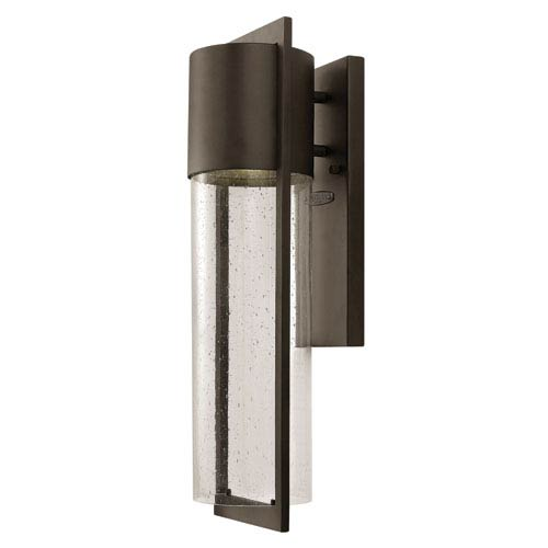 Hinkley Shelter Buckeye Bronze Medium One-Light Outdoor Wall Light