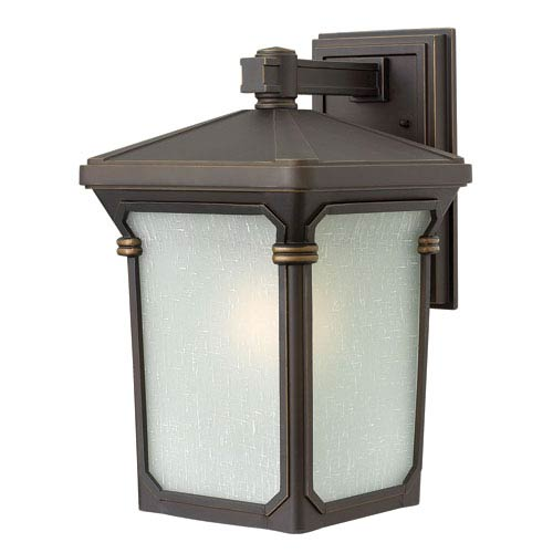 Hinkley Stratford Oil Rubbed Bronze 16-Inch One-Light Outdoor Wall Light