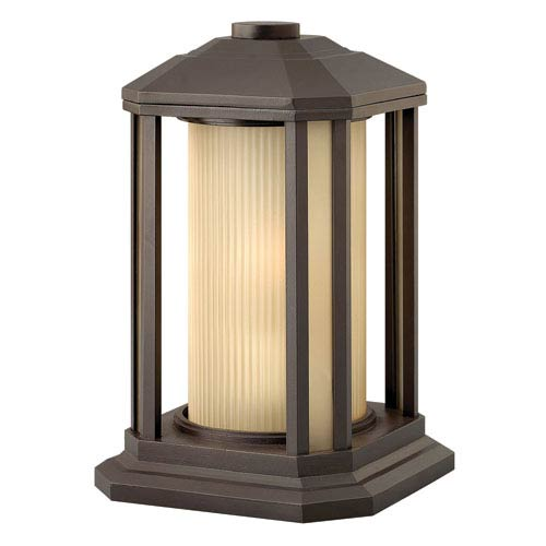 Castelle Bronze One-Light Outdoor Pier Mount