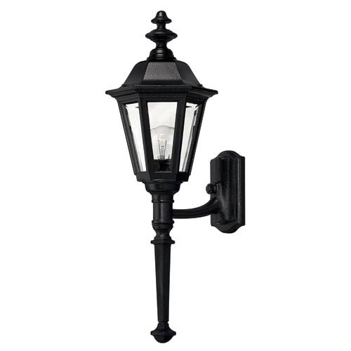 Hinkley Manor House Black 25-Inch Outdoor Wall Mount