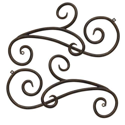 Trellis Regency Bronze Outdoor Trellis Scroll Accessory