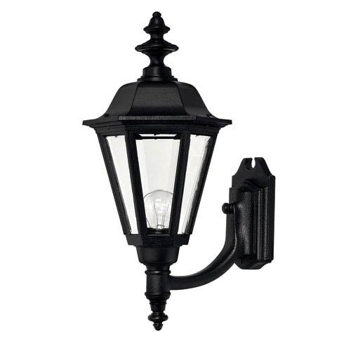 Hinkley Manor House Black 21-Inch Outdoor Wall Mount