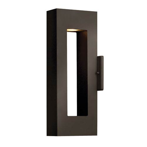Hinkley Atlantis Bronze Two-Light Small LED Outdoor Wall Light