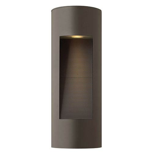 Hinkley Luna Bronze Two Light Small LED Outdoor Wall Light