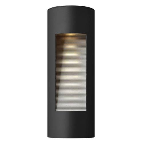 Hinkley Luna Satin Black Medium Two-Light LED Outdoor Wall Light