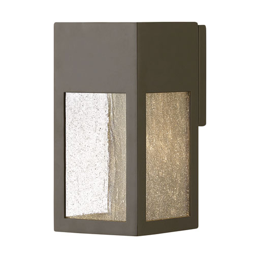 Hinkley Rook Bronze One-Light Outdoor Small Wall Mount
