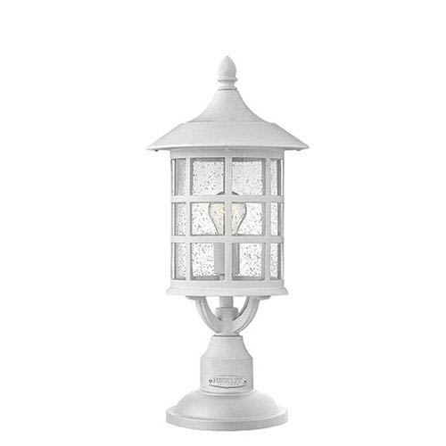 Hinkley Freeport Classic White One Light Outdoor 20 Inch