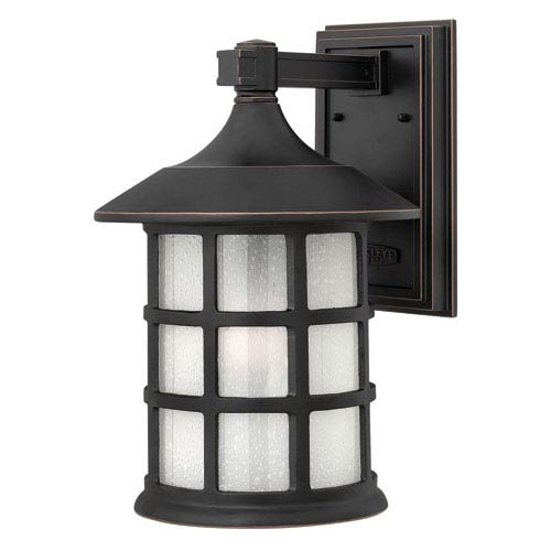 Hinkley Freeport Olde Penny One-Light Large Fluorescent Outdoor Wall Light