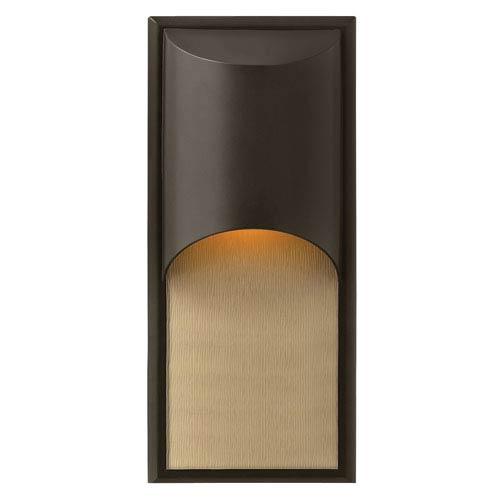 Hinkley Cascade Bronze One-Light Fluorescent Outdoor Wall Light