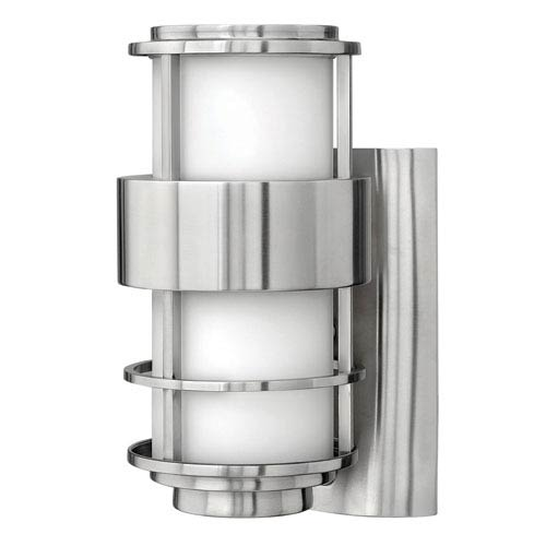 Saturn Stainless Steel One-Light Small Outdoor Wall Light