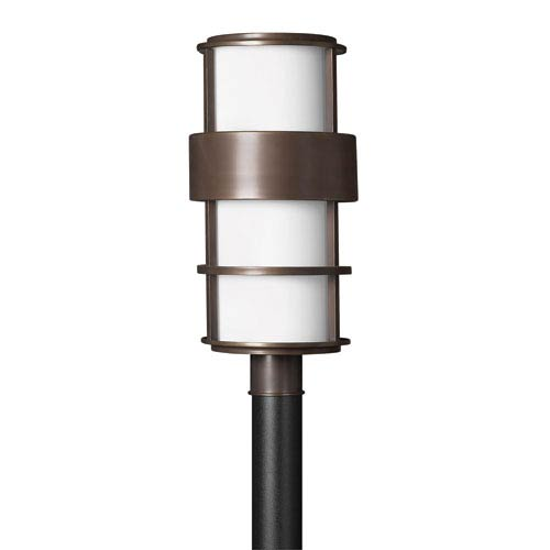 Hinkley Saturn Metro Bronze Fluorescent Outdoor Post Mount