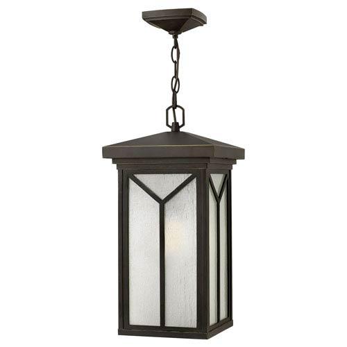 Hinkley Drake Oil Rubbed Bronze One-Light LED Outdoor Pendant