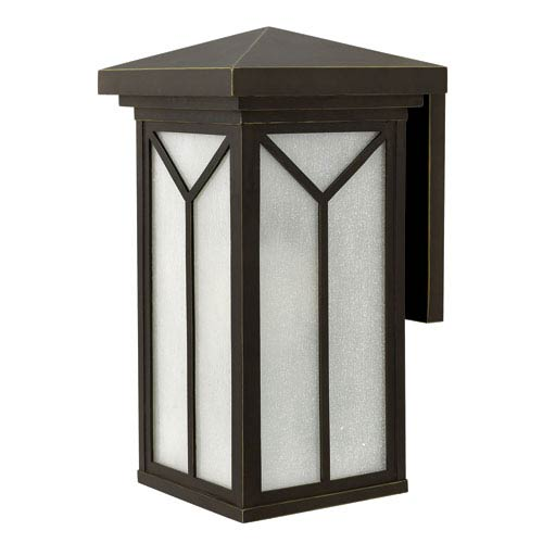 Hinkley Drake Oil Rubbed Bronze 21-Inch One-Light Outdoor Wall Light