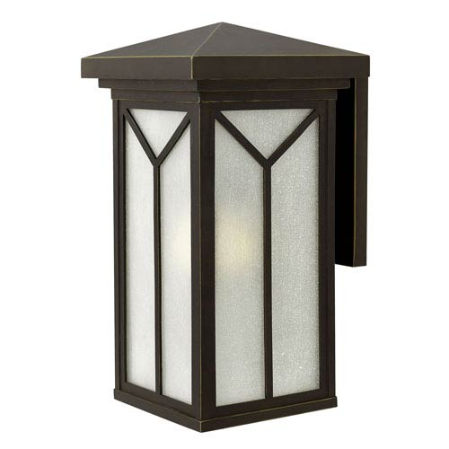 Hinkley Drake Oil Rubbed Bronze 11.5-Inch One-Light LED Outdoor Wall Mounted
