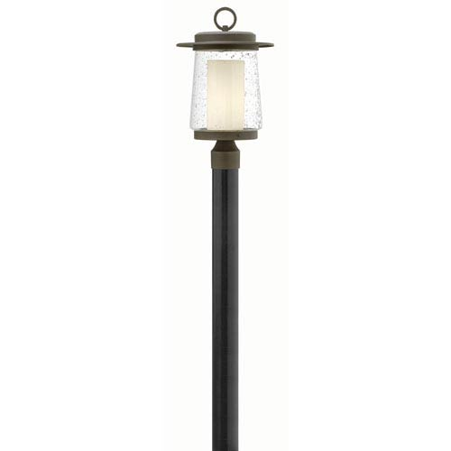 Hinkley Riley Oil Rubbed Bronze 18.5-Inch One-Light Outdoor Post Mounted