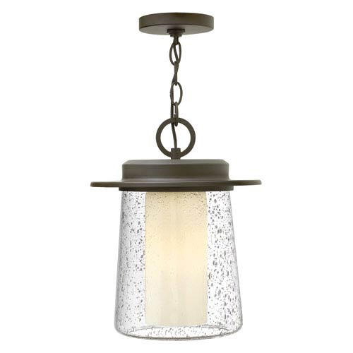 Hinkley Riley Oil Rubbed Bronze One-Light Outdoor Pendant