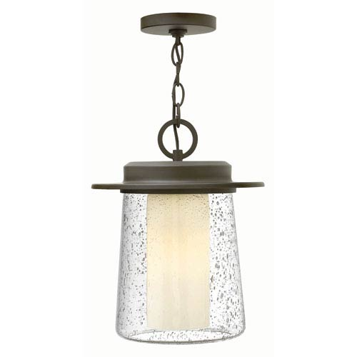 Hinkley Riley Oil Rubbed Bronze 11-Inch One-Light Outdoor Pendant