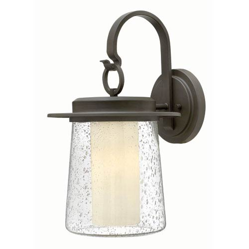 Hinkley Riley Oil Rubbed Bronze 19-Inch One-Light Outdoor Wall Mounted
