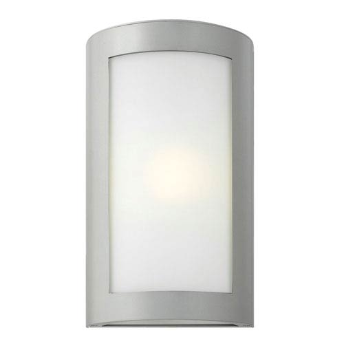 Hinkley Solara Titanium 15.5-Inch One-Light Outdoor Wall Mounted
