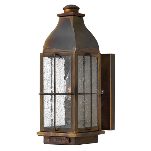 Hinkley Bingham Sienna 5-Inch One-Light Outdoor Small Wall Mount